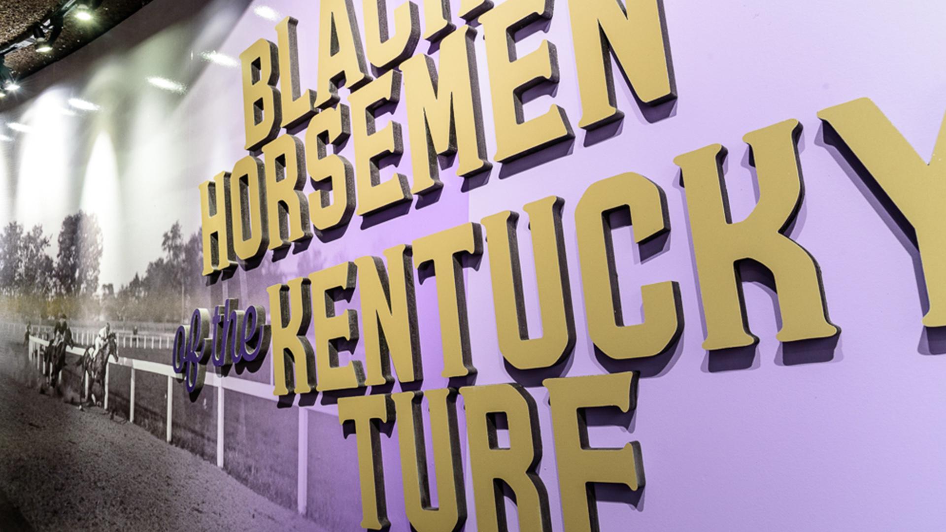 Horsemen 3D wall graphic