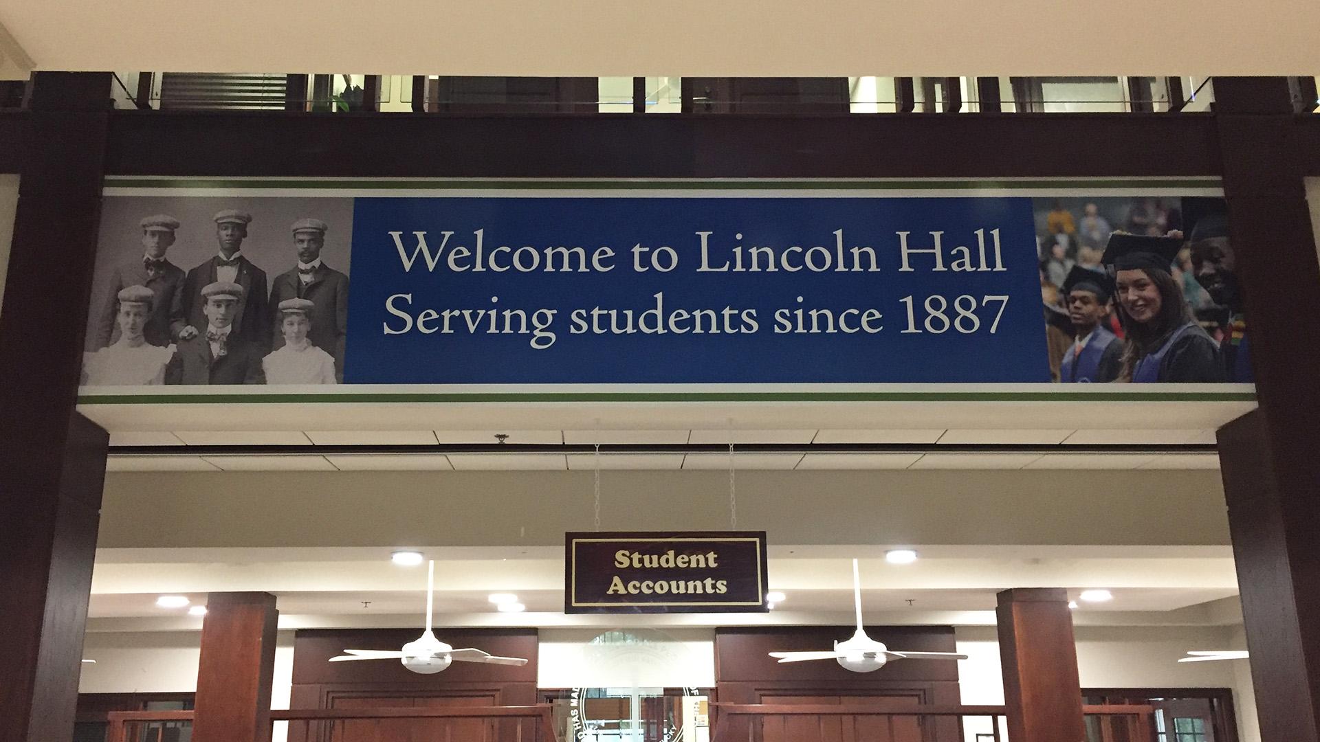 Lincoln Hall Wall design
