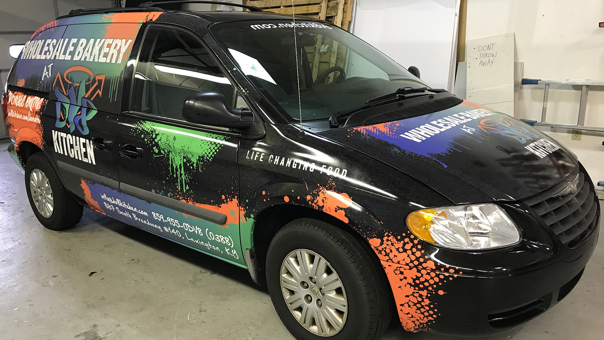 Wholesale Bakery Kitchen Vehicle Wrap