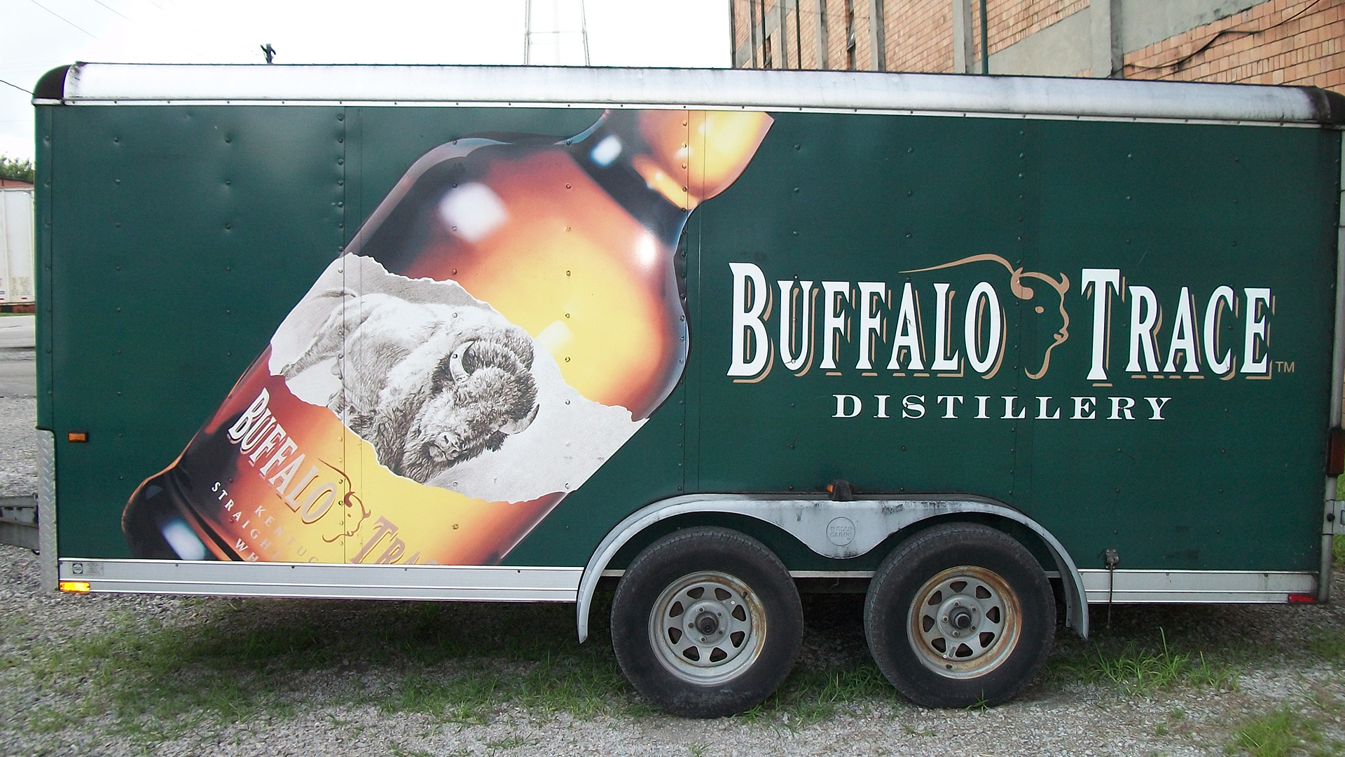 Buffalo Trace Distillery trailer wrap