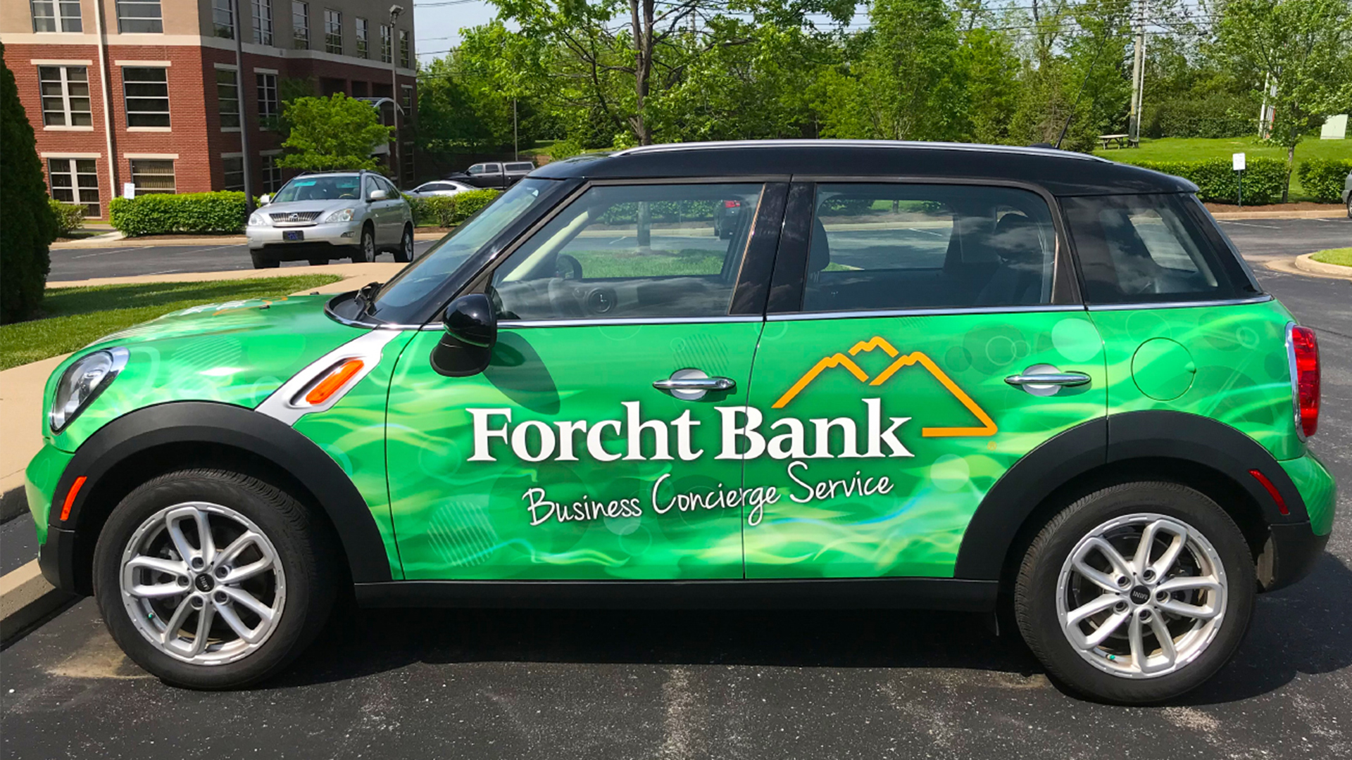 Forcht Bank vehicle wrap