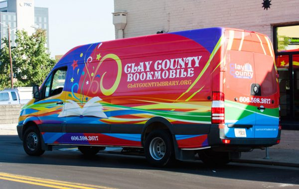 Clay Country BookMobile Vehicle Wrap